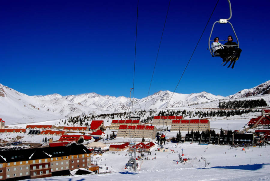 Chairlifts Las Lenas